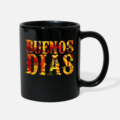 Funny Spanish Buenos Dias Good Morning Humor Full Color Mug