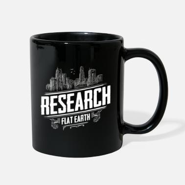 Flat Earth Earth is flat - Flat Earth - Research Flat Earth - Full Color Mug