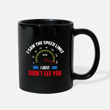 Artist Saw The Speed Limit. I Just Didn't See You! - Gift - Full Color Mug