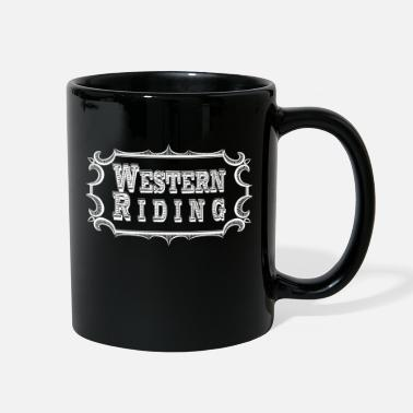 Western Riding Western Riding - Full Color Mug