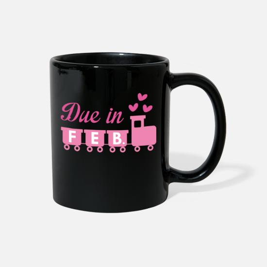 Cute Mugs & Drinkware - Due In February - Full Color Mug black