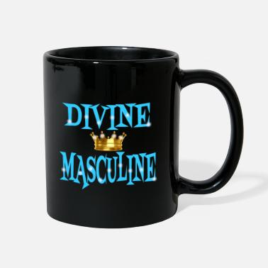 Couple Marriage Spiritual Divine Masculine - Full Color Mug