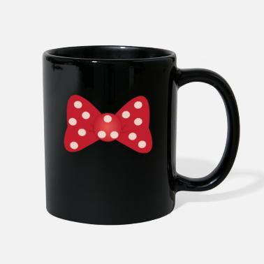 Polka Dot Bow Tie - Full Color Mug
