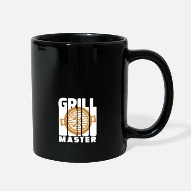Grillwuerstchen Grill Master BBQ - Full Color Mug