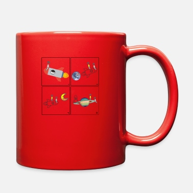 Take you to the sky - Full Color Mug