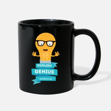 Adult foolish Genius mother in law - Full Color Mug