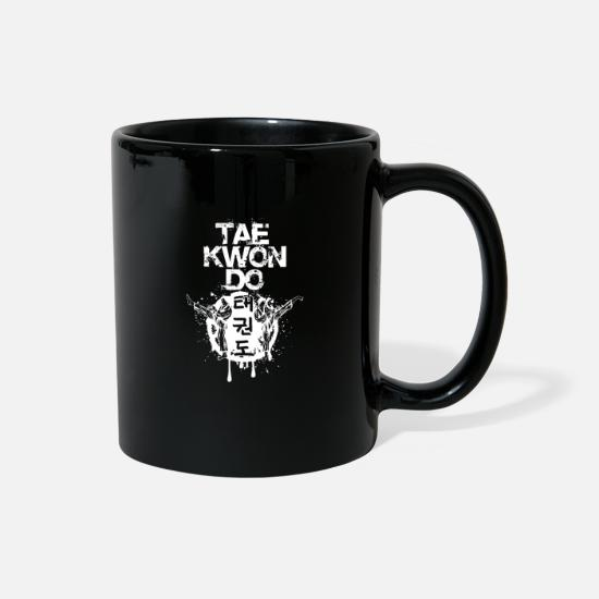Mma Mugs & Drinkware - Taekwondo - Full Color Mug black