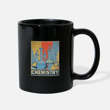 Teaching Chemistry Teacher Retro Vintage Gift Science - Full Color Mug