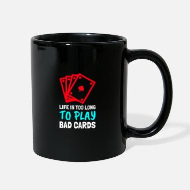 Chip Leader LIFE IS TOO LONG - Full Color Mug