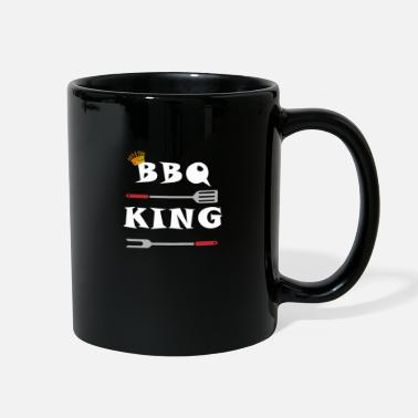 Bbq BBQ King - BBQ / BBQ / Gift - Full Color Mug