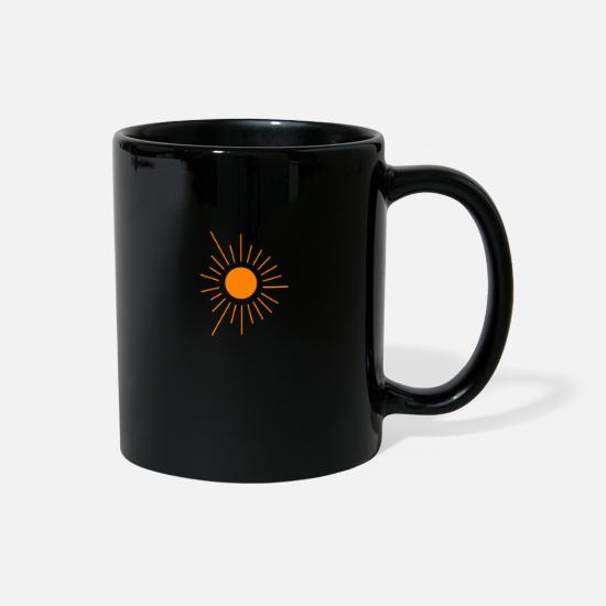 Sunny Heights Mugs & Drinkware - Sun - Full Color Mug black
