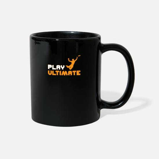 Frisbee Mugs & Drinkware - Ultimate Frisbee - Full Color Mug black