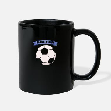 Association Football Cool Soccer Football Statement Soccer Player Gift - Full Color Mug