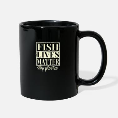 Recycling Fish Lives Matter - Full Color Mug