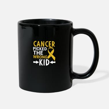 Cancer Picked The Wrong Kid - Full Color Mug