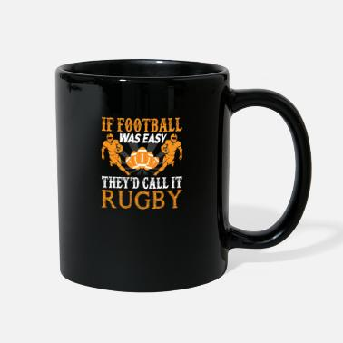 Fantasy Football vs Rugby - American, Sunday - Full Color Mug