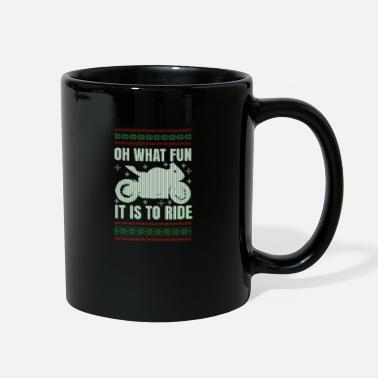 Supermoto Christmas Sportsbike Touring Street Biker Gift - Full Color Mug