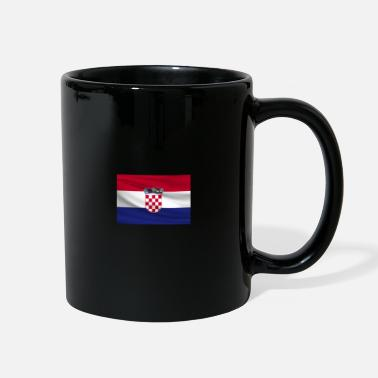 Hrvatica From Croatia with Love - Croatian Flag color small - Full Color Mug