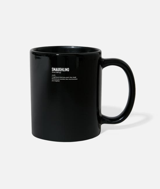 Drugs Mugs & Cups - Snaughling - Full Color Mug black