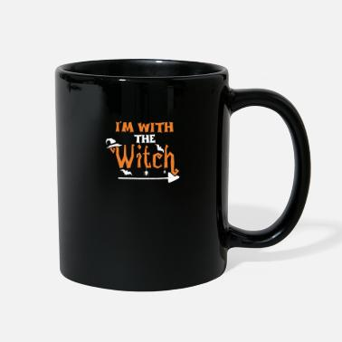 Witch I'm With The Witch - Witch - Full Color Mug