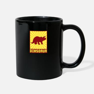 Guys Sun Dino Gift Dinosaur Retro - Full Color Mug