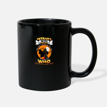 HALLOWEEN WITCH - VETERAN'S WIFE - Full Color Mug