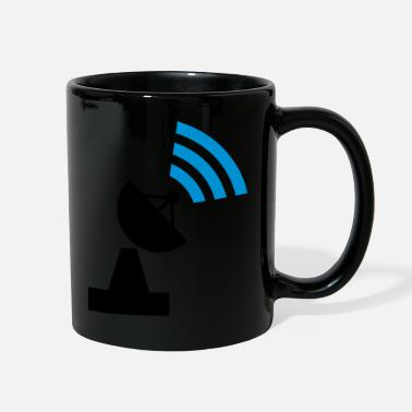 Satellite Transmission tower - Full Color Mug