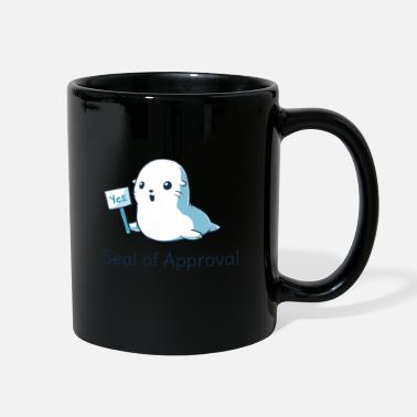 Closed Captions Seal Of Approval Tee T shirt - Full Color Mug