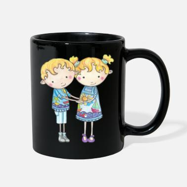 Adult Paul and Gabi the twins - Full Color Mug