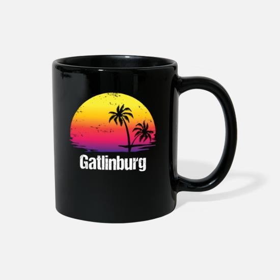 Gatlinburg Mugs & Drinkware - Summer Vacation Gatlinburg Shirts - Full Color Mug black