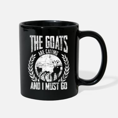 Animal Goat Farm Animal Goats Goatee Farmer Horns Gift - Full Color Mug
