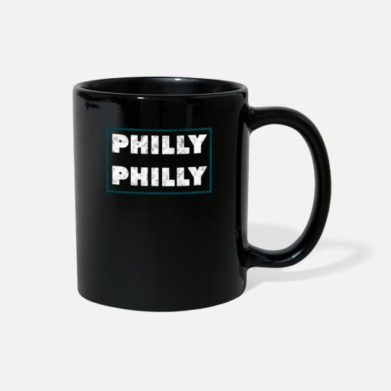 Philly Mugs & Drinkware - Philly Philly Funny Vintage Graphic - Full Color Mug black