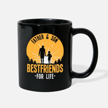 Father's Day Father & Son - Full Color Mug