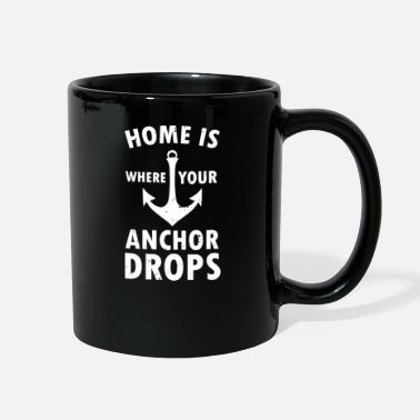 Seaman Home is Where Your Anchor Drops - Full Color Mug