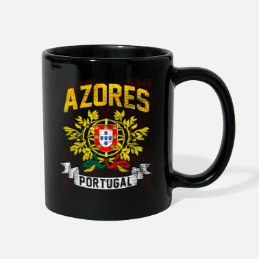 Portuguese Portugal Portuguese Flag Soccer Gift Nationality - Full Color Mug