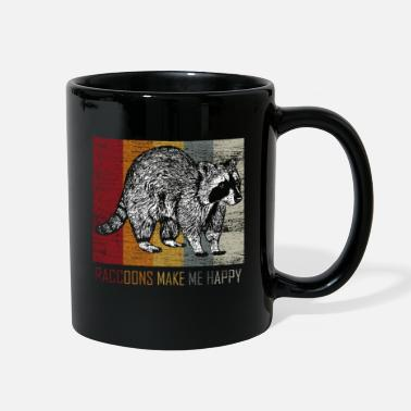 Raccoon Raccoon - Full Color Mug