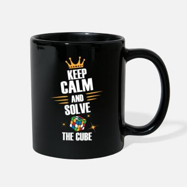 Zauberwürfel Keep Calm, Solve The Magic Cube - Limited Edition - Full Color Mug
