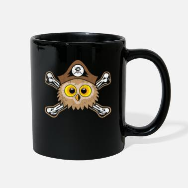 Pirate Outfit Owl in Pirate Outfit Forest Animal - Full Color Mug