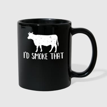 Meatball BBQ Barbecue Funny Quote - Full Color Mug