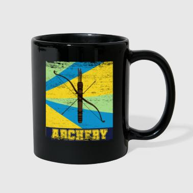 Hobby Archery Hobby Bow Quiver Vintage - Full Color Mug