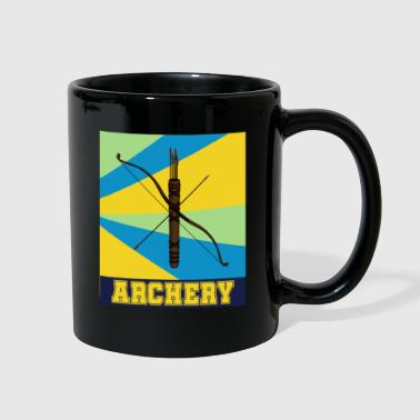 Hobby Archery dangerous hobby bow gift - Full Color Mug