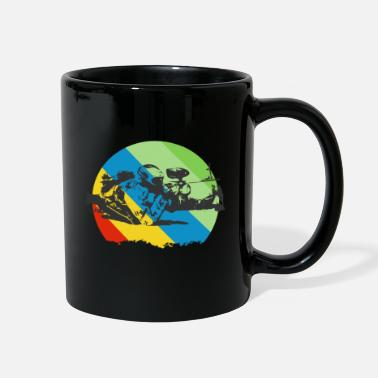Tactical Paintball tactic Sport with firearms - Full Color Mug