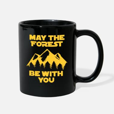 Vader May the Force be with you Geschenk Förster Wandern - Full Color Mug