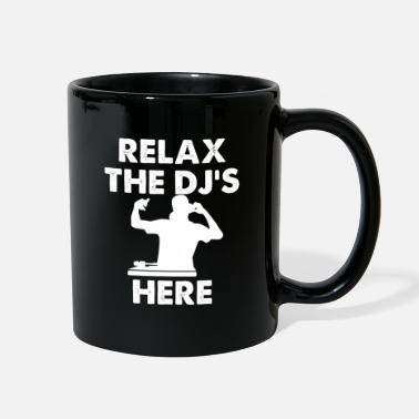 Underground dj Musik club dance Deejay Disc jockey vinyl - Full Color Mug