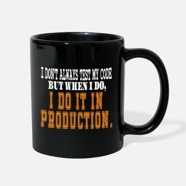 Encodes Information Hilarious quotes Tee for nerdy geeks, Coder, - Full Color Mug