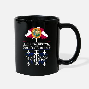 Hunting Florida Grown with Quebecois Roots Design - Full Color Mug