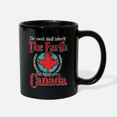 Maple Leaf Canada - Full Color Mug