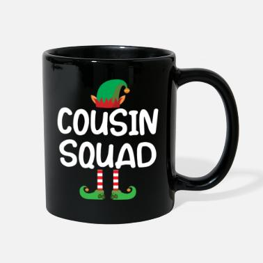Elf Cousin Squad elf christmas family matching shirt - Full Color Mug