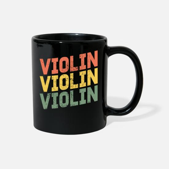 Violine Mugs & Drinkware - Violin violin violin - Full Color Mug black