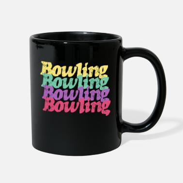Bowling Design Bowling Design - Full Color Mug